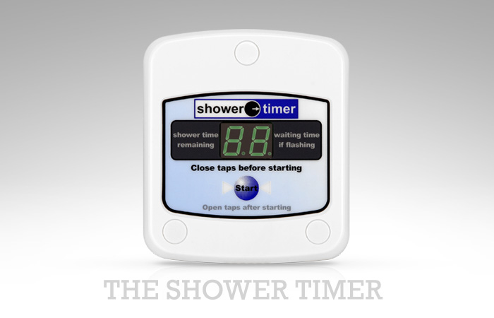 standard domestic shower timer