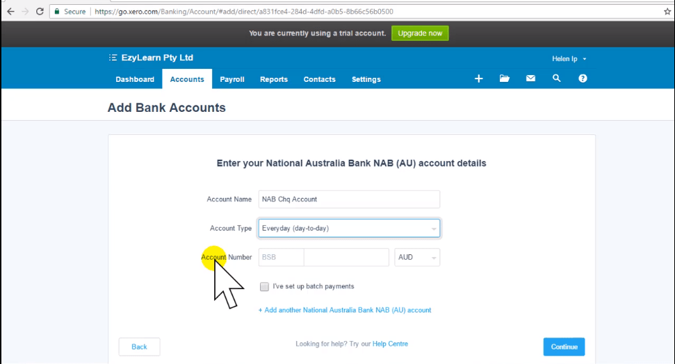 Xero Training - How to Add a Bank Account - Thumbnail