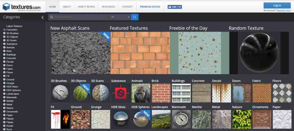 Websites to get Textures for your Architecture Images
