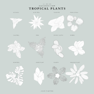 Tropical Plants Pack