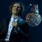 alquiler lamparas de arana concierto david bisbal