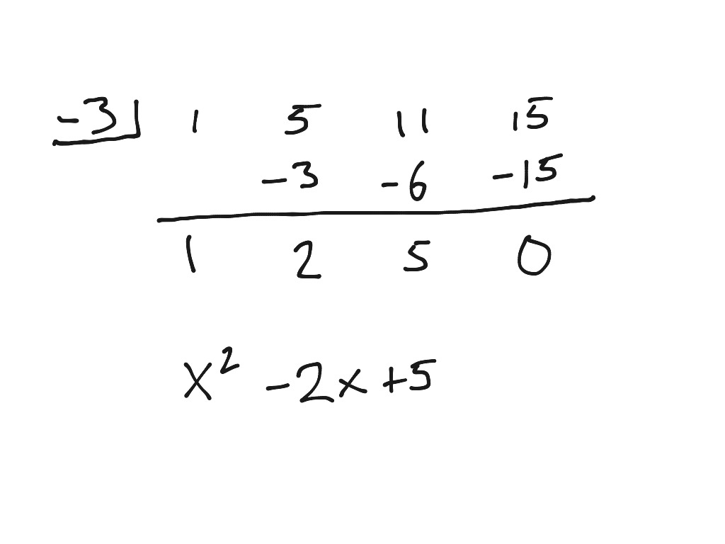 Printables Of Synthetic Division Worksheet Answers