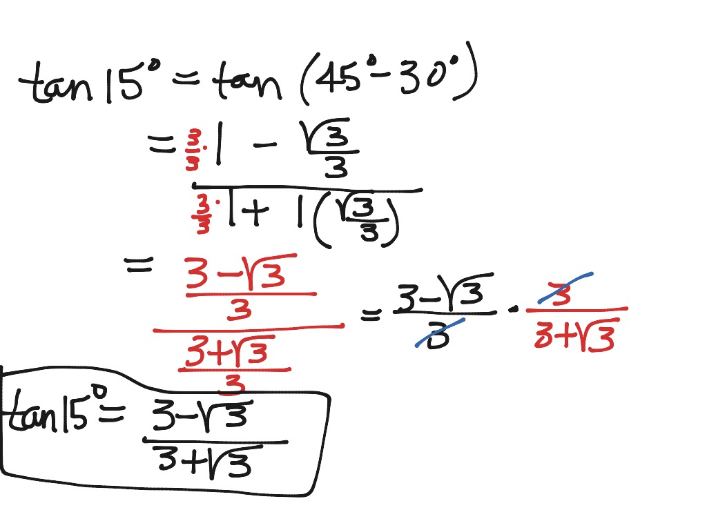 Exact Values Of Trig Functions And Inverse Trig Fcts