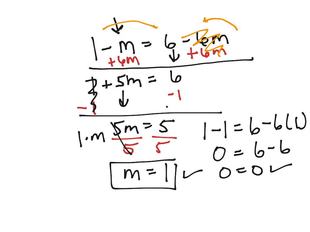 Variable On Both Sides 2
