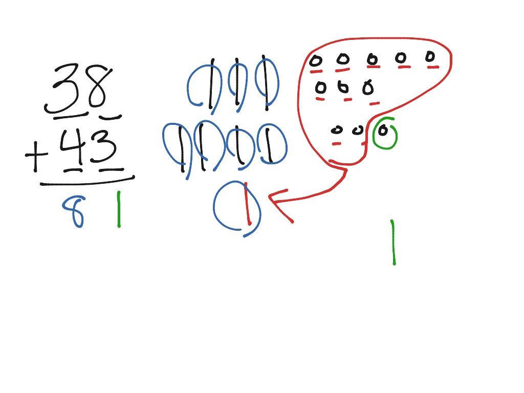 Adding 2 Two Digit Numbers With Regrouping In The Ones