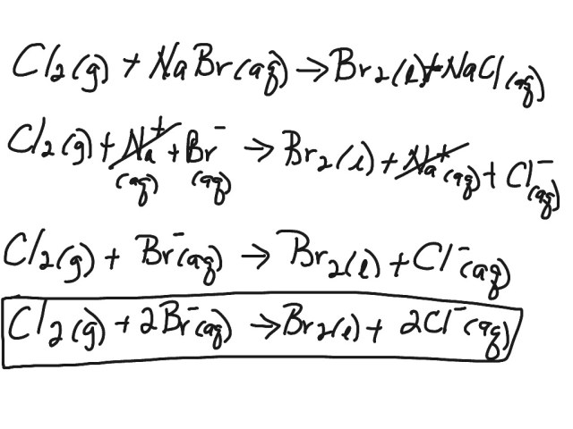 Net Ionic Equations  Science, Chemistry, Chemical-reactions