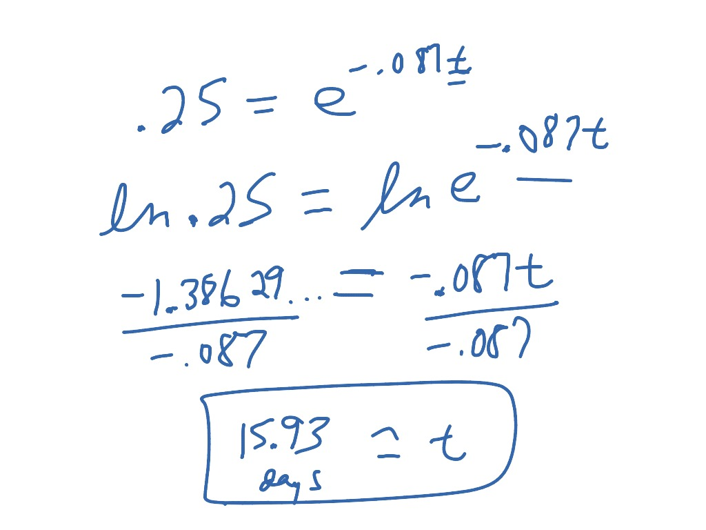 Section 8 6 Exponential Amp Logarithmic Functions