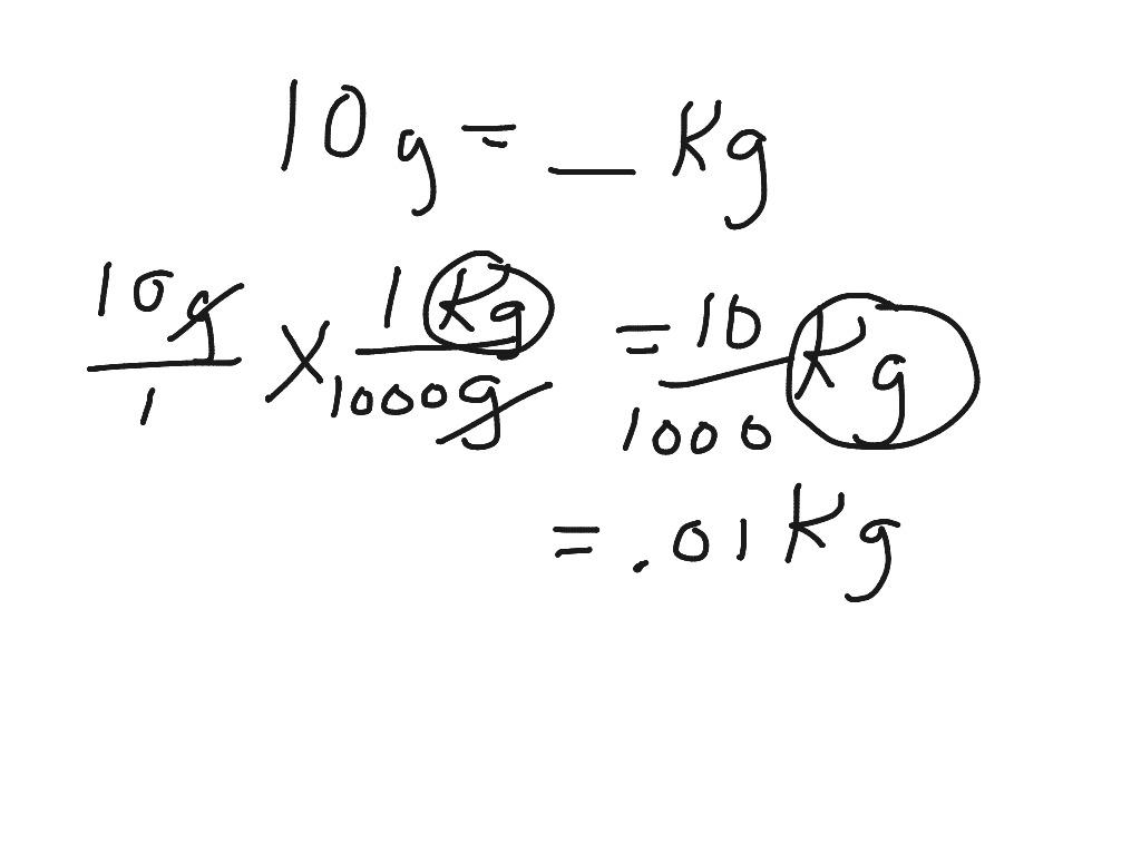 Factor Label Method