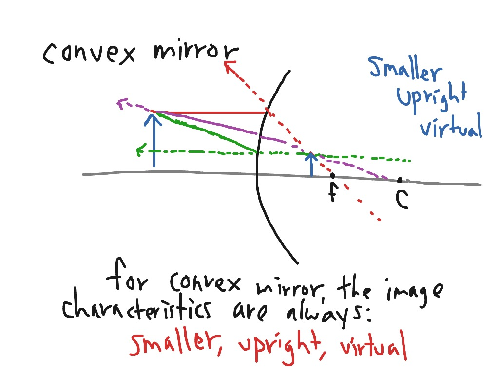 29 Ray Diagram For Convex Mirror