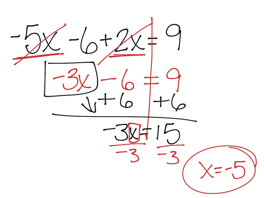 30 Combining Like Terms Equations Worksheet