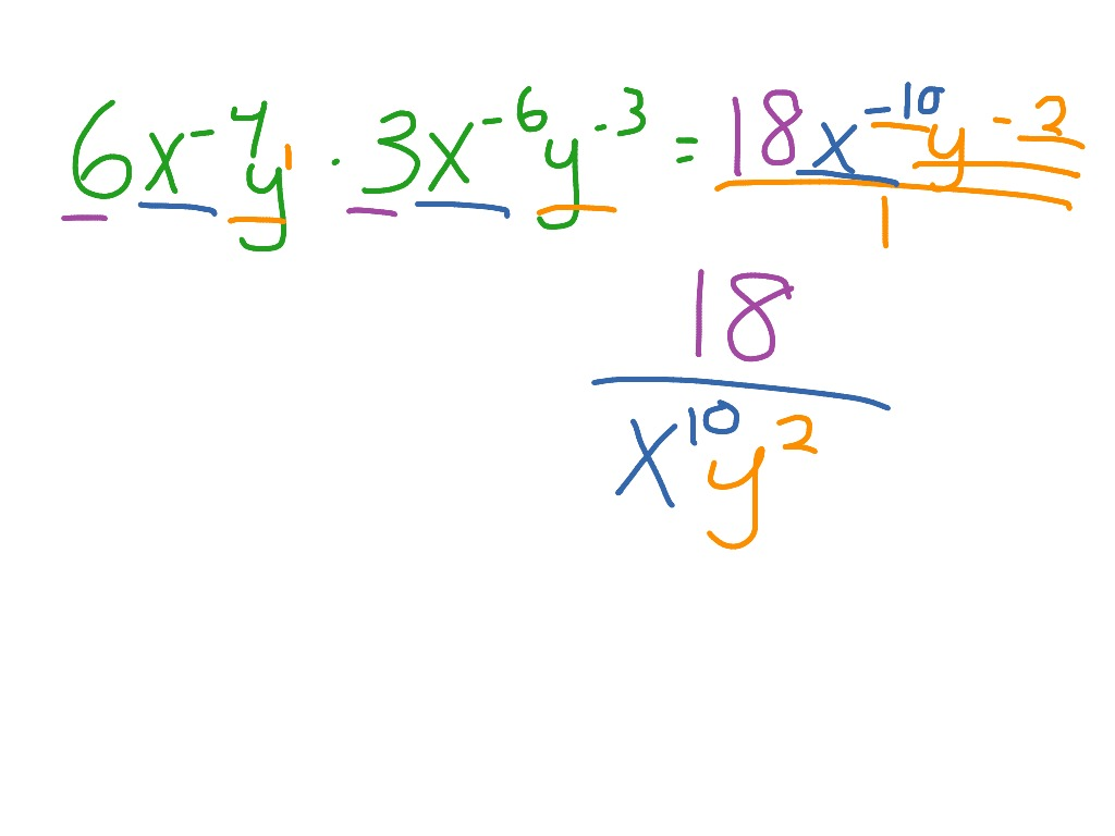 Multiplying With Exponents