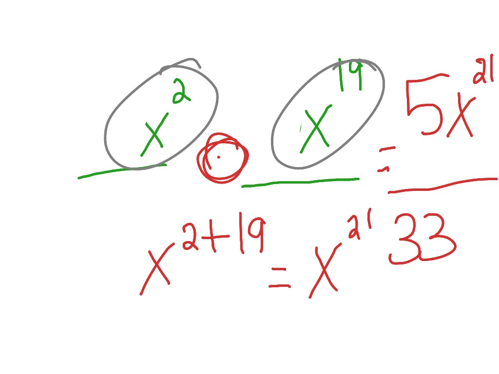 Multiplying Fractions With Variables And Exponents