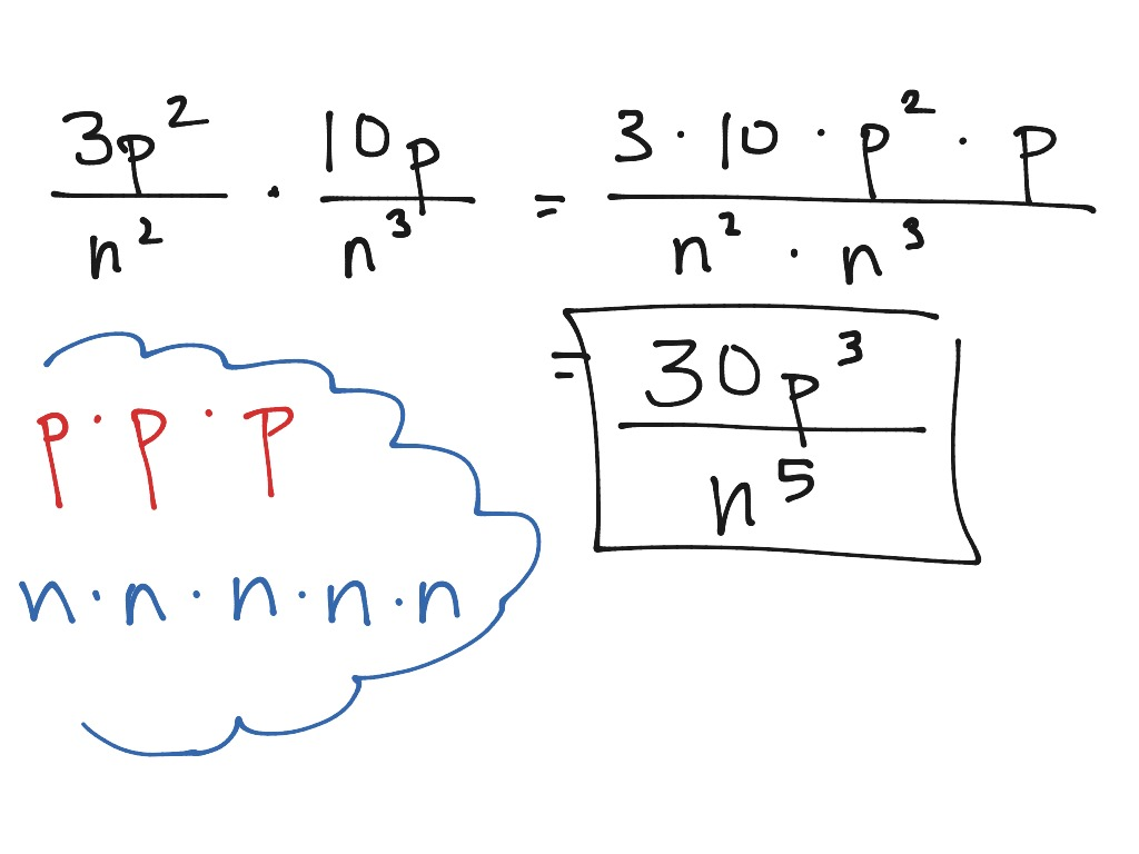 How To Do Multiplication And Division Of Algebraic Fractions