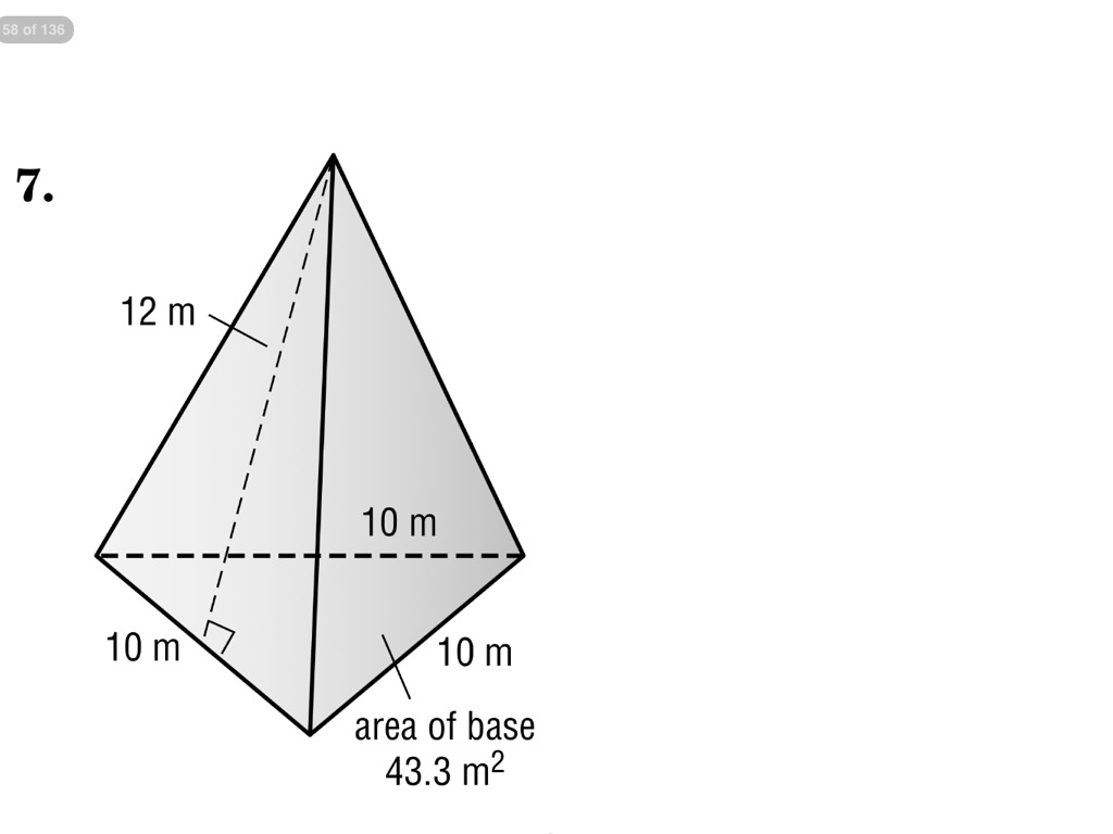 Worksheet Volume Of Triangular Pyramid Worksheet Grass