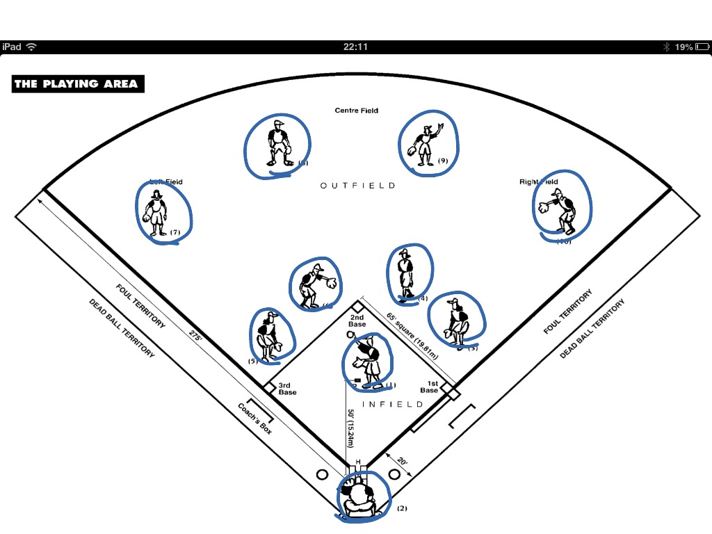 Softball Fielding Positions