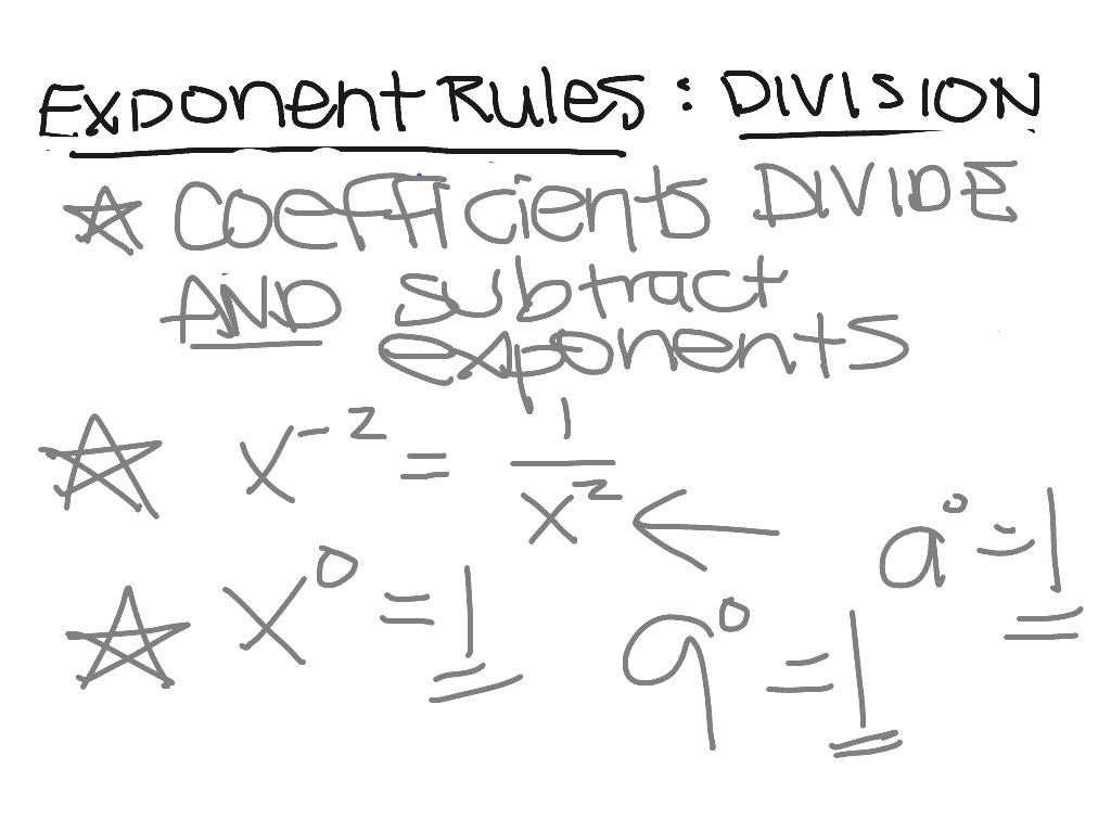 Exponents Dividing