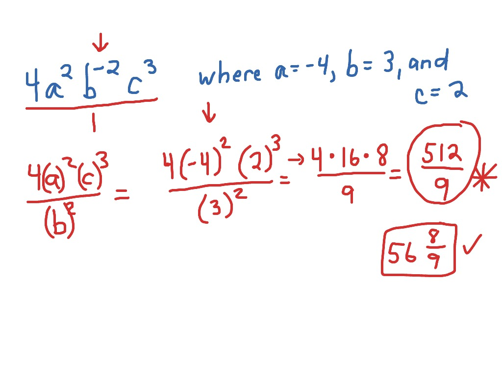 Zero And Negative Exponents 2