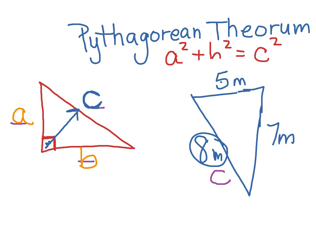 Finding The Hypotenuse Of A Triangle
