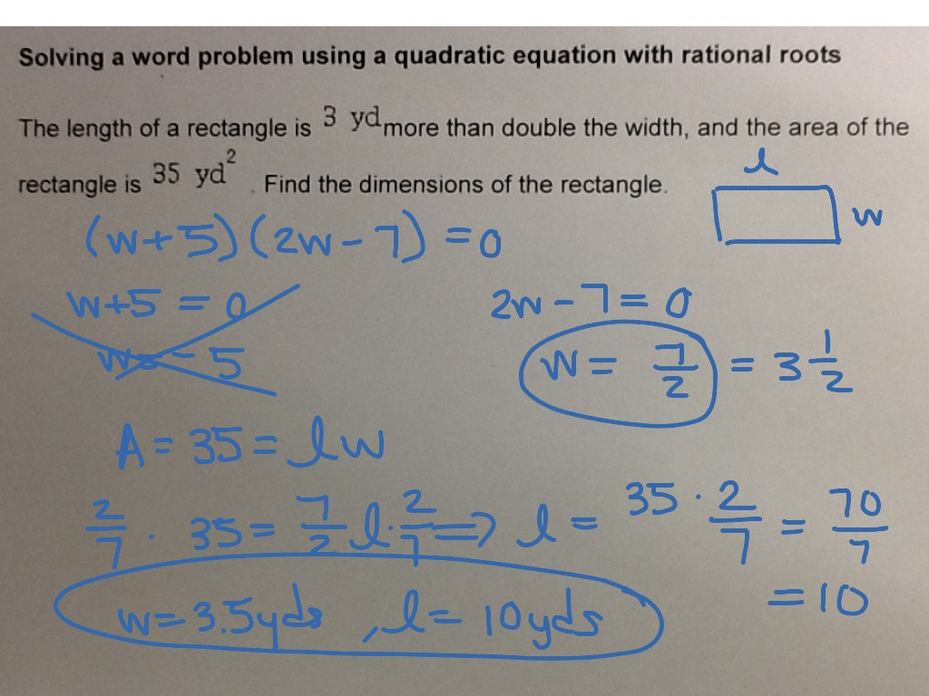 Mat Aleks Module 6 Solving A Word Problem Using A