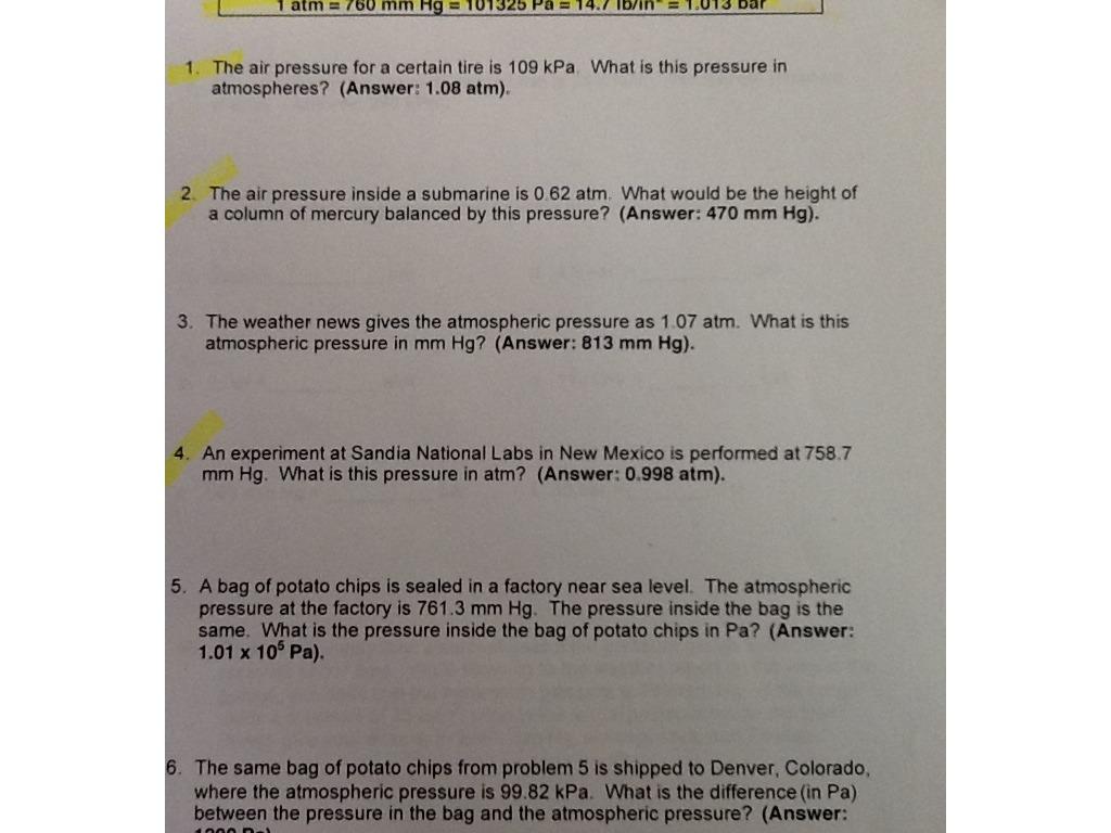 Worksheet Air Pressure Worksheet Grass Fedjp Worksheet Study Site