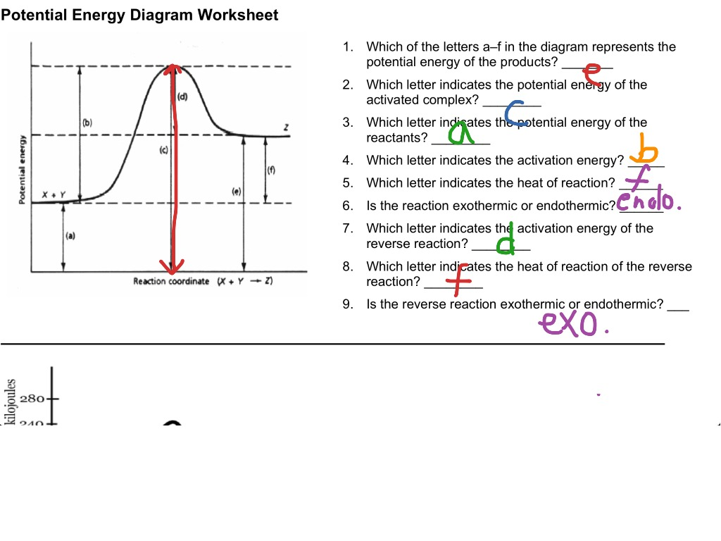 12 1 Reading A Potential Energy Graph