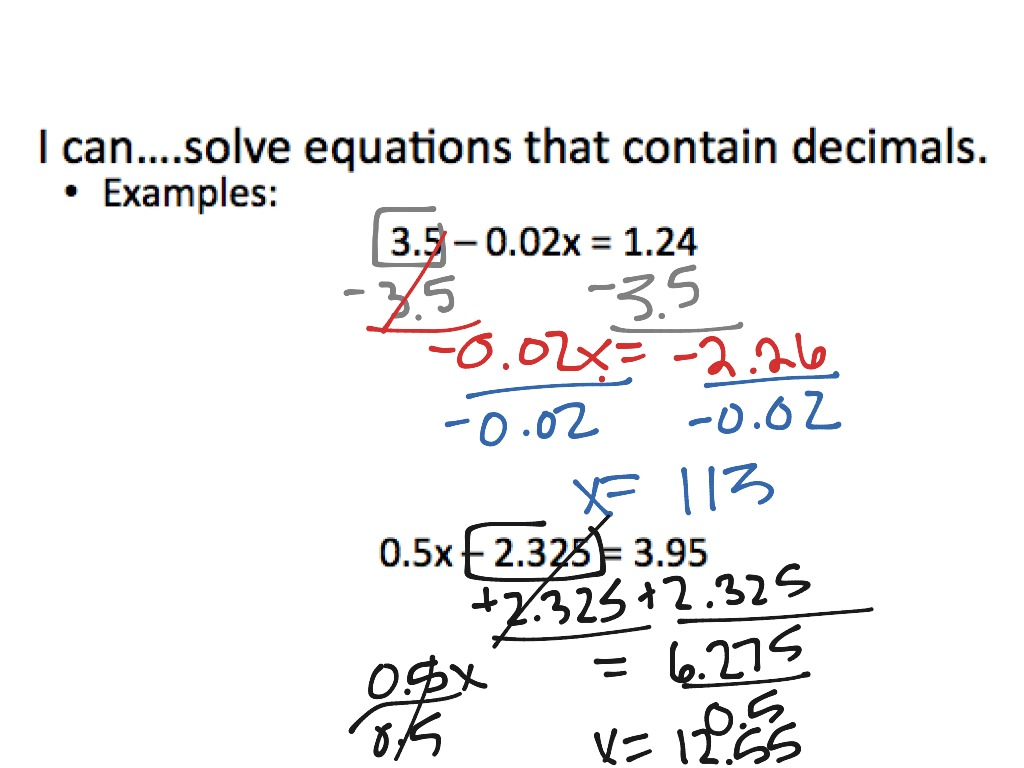 Solving Algebraic Fractions Worksheet