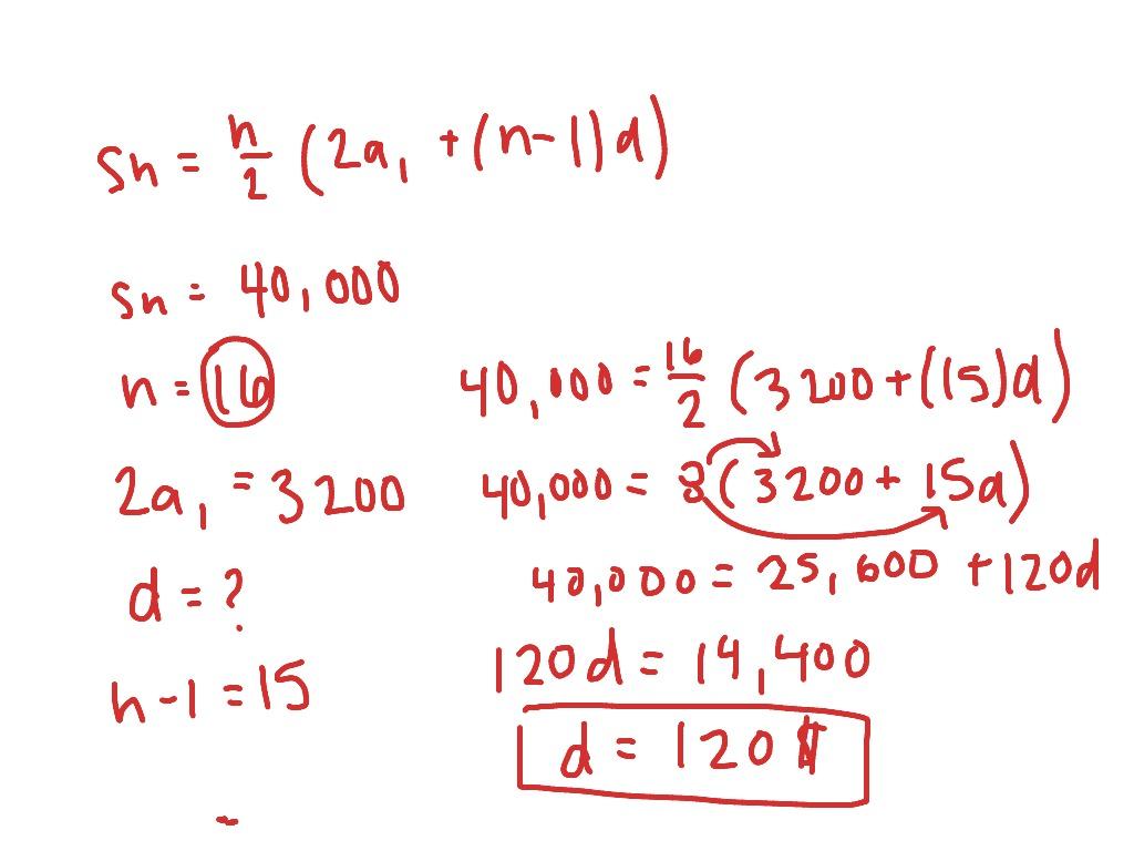 Arithmetic Equation Worksheet 3 Problem 1