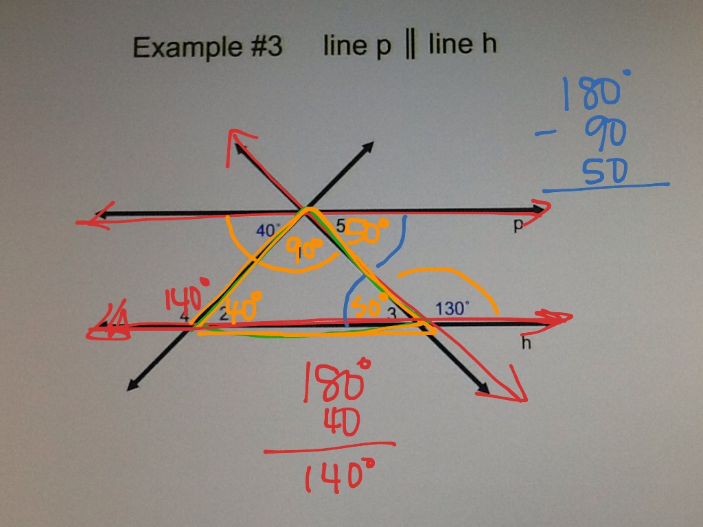 Latest Parallel Lines Cut By A Transversal Coloring