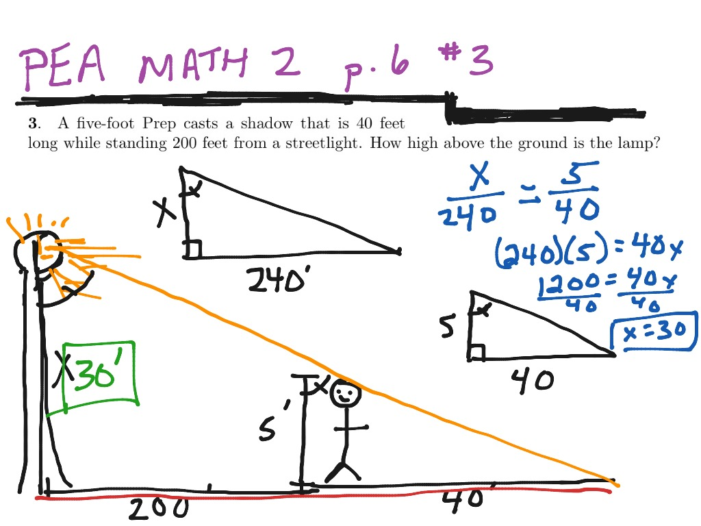 Ratios And Proportions Similar Figures Worksheet