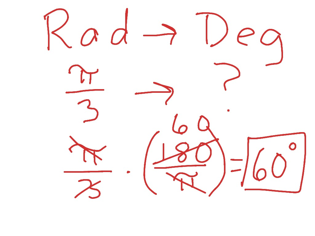 Introduction To Trigonometry Degrees And Radian