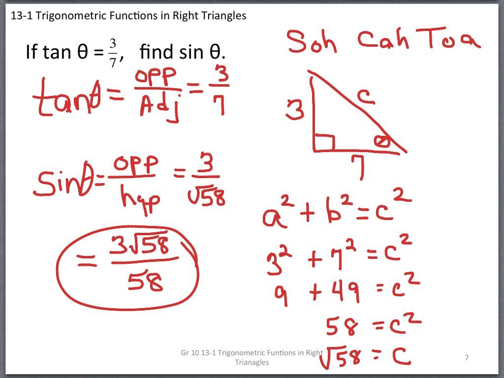 Lesson 12 1 Basic Trig