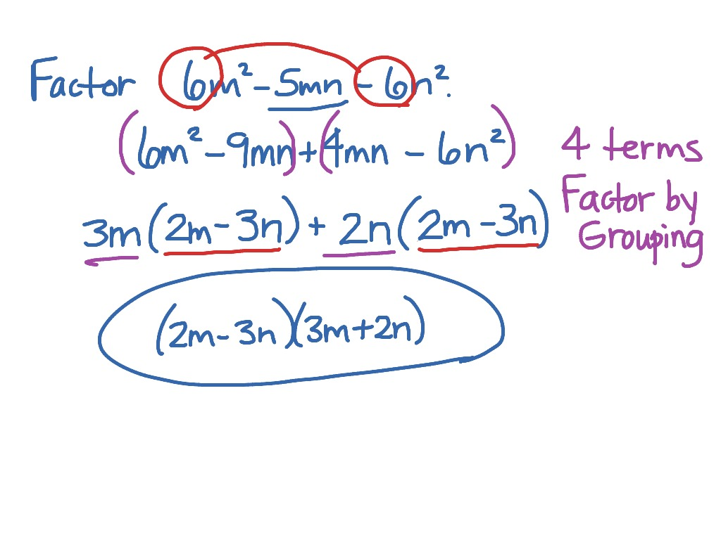 Solve Quadratic Equation By Factoring When A Is Not 1