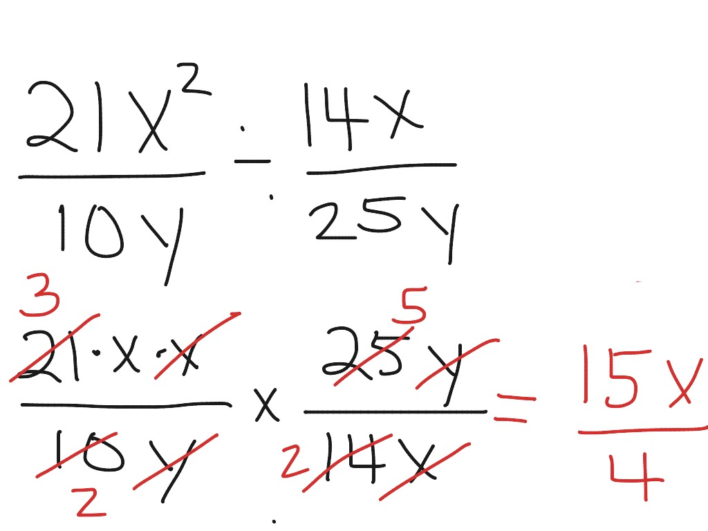 How To Divide Fractions With Exponents