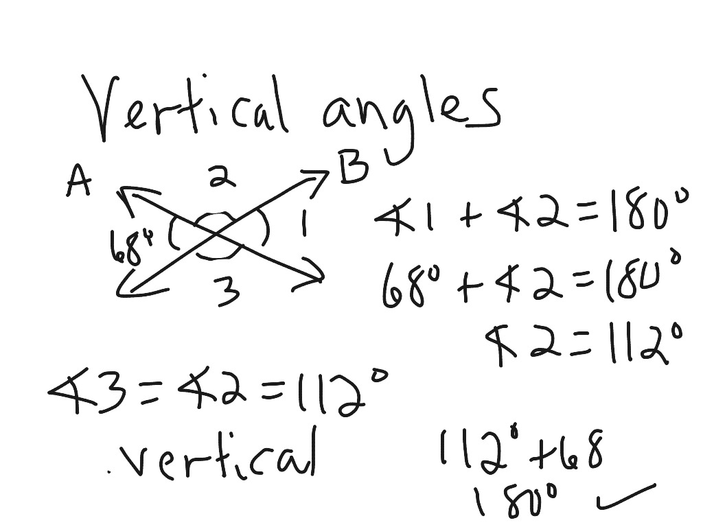 10 1 Complementary Supplementary And Vertical Angles