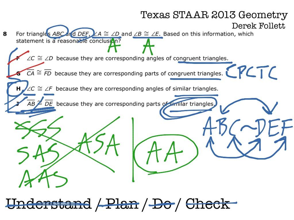 Texas Staar Geometry 8