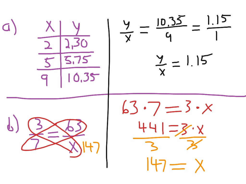 7th Grade 2 4 Proportional Relationships And Equations
