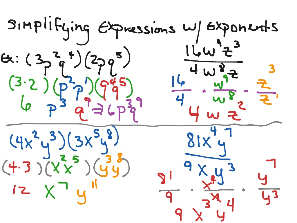 Solving Algebraic Equations With Exponents