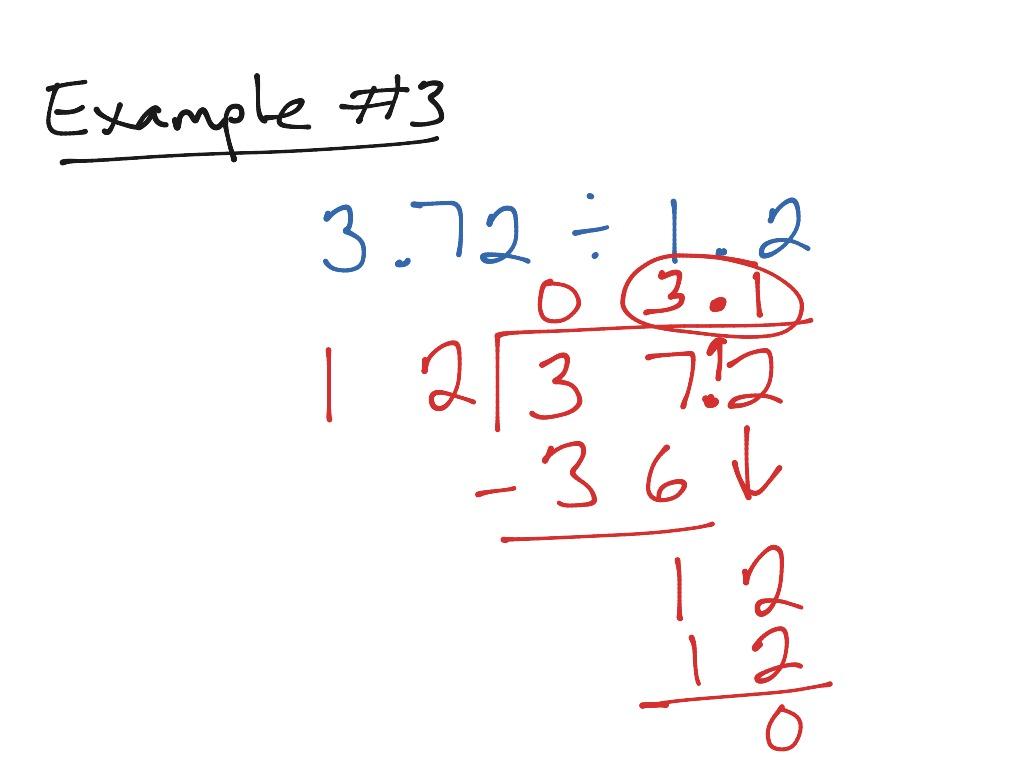5 6 Divide Decimals