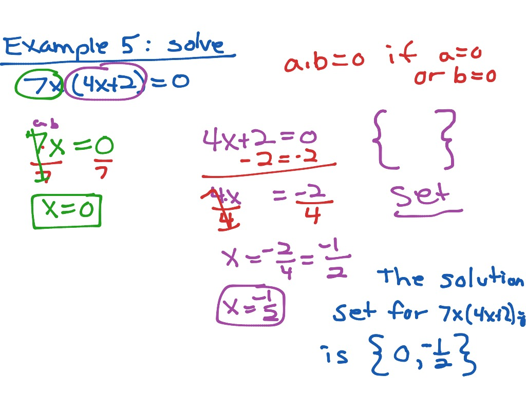 Ch2 1 Ex5 Zeroprodprop Factoredquadratic