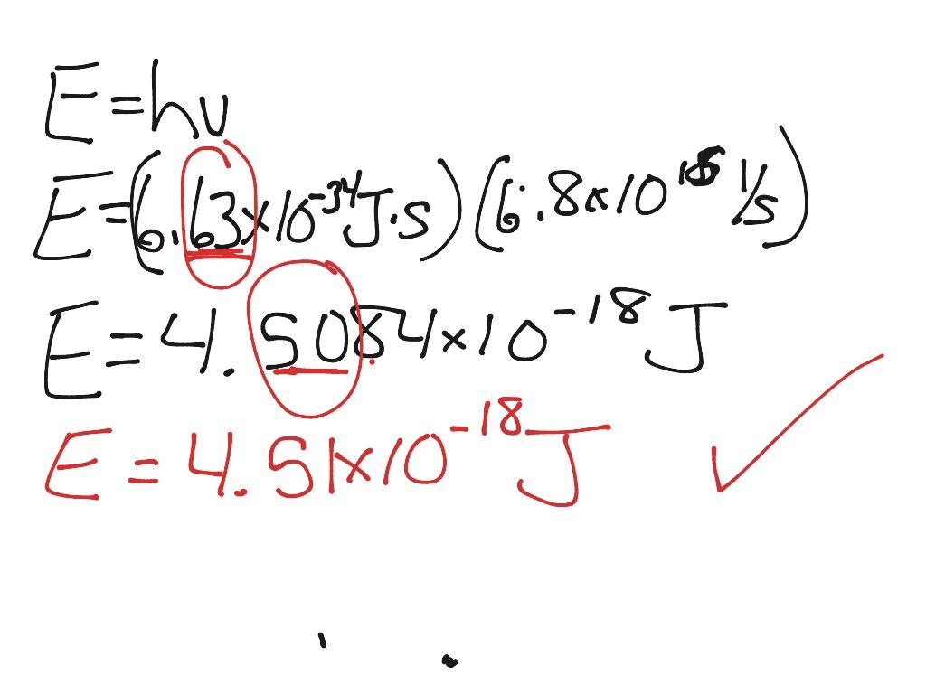 Planck S Equation Worksheet 1