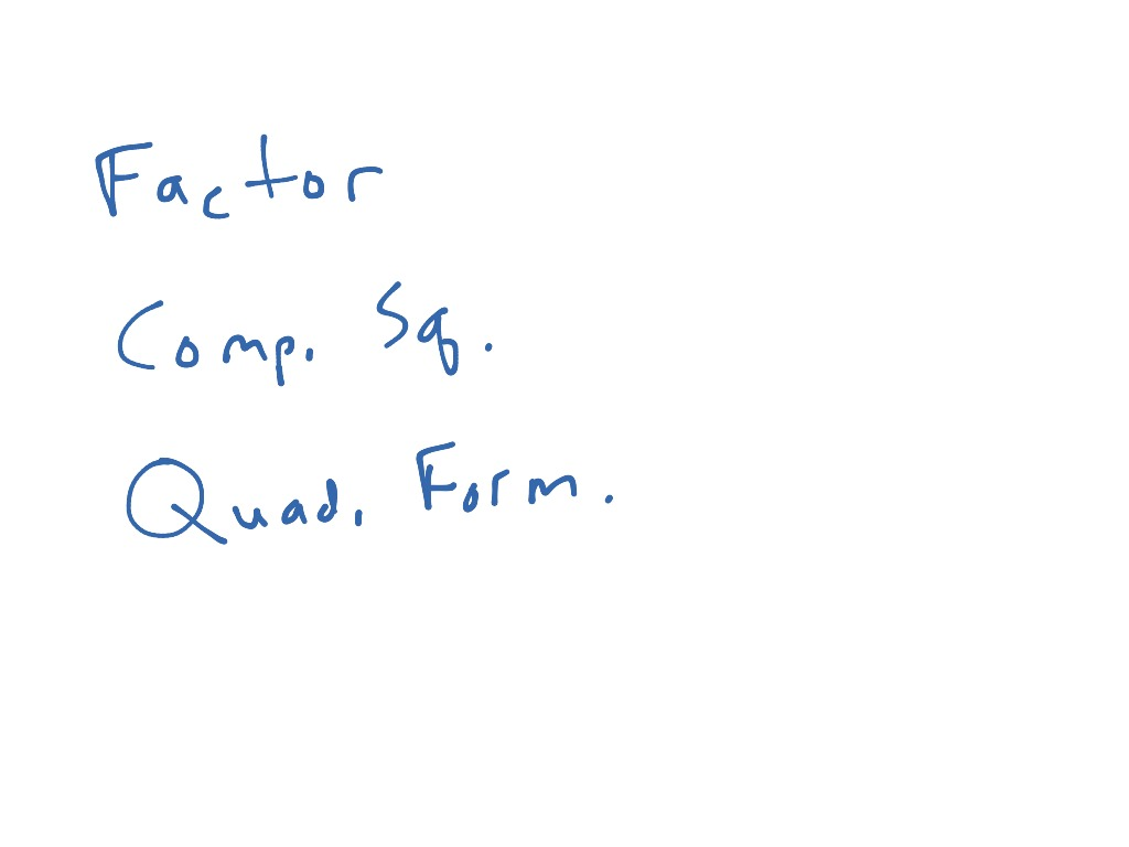 Alg 6 5 One Variable Quadratic Unequalities