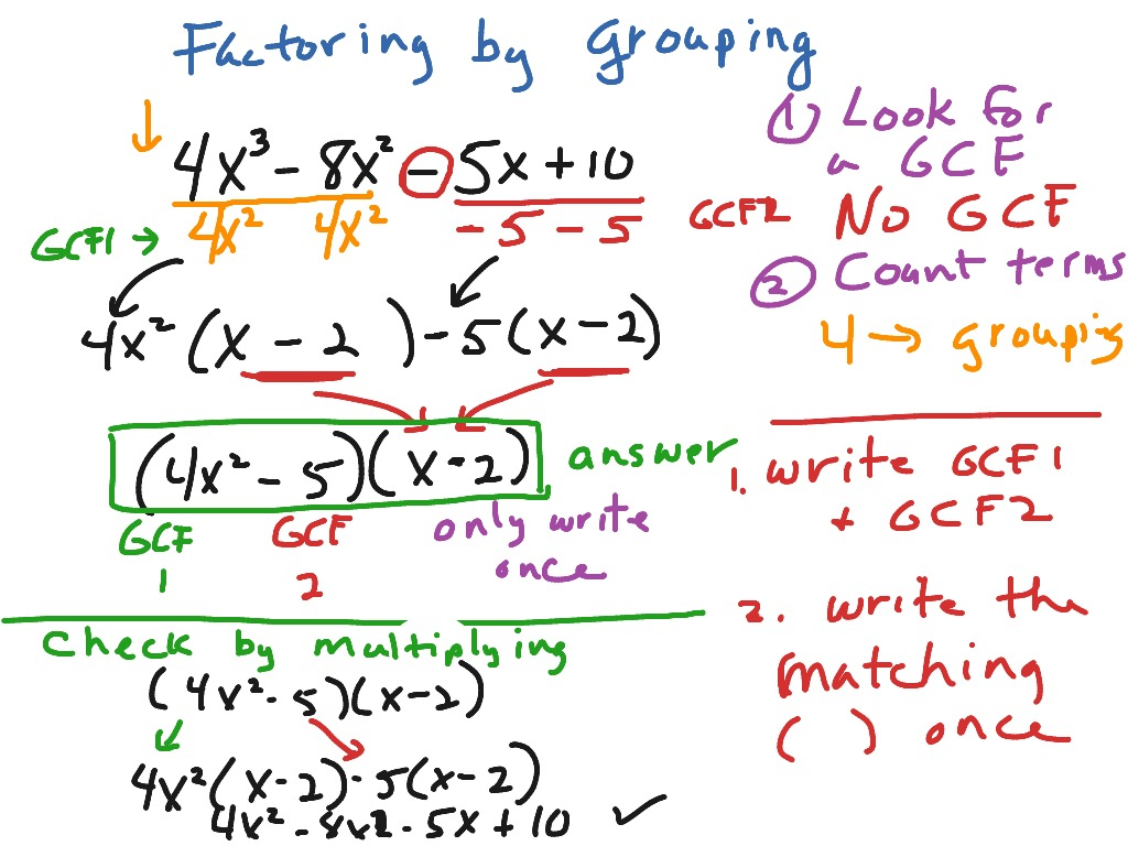 Howto How To Factor Polynomials With 4 Terms Without Grouping