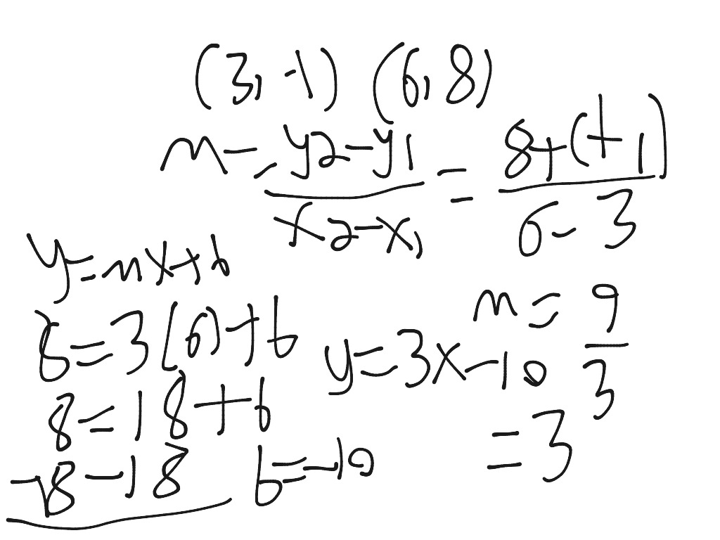 Algebra Equation