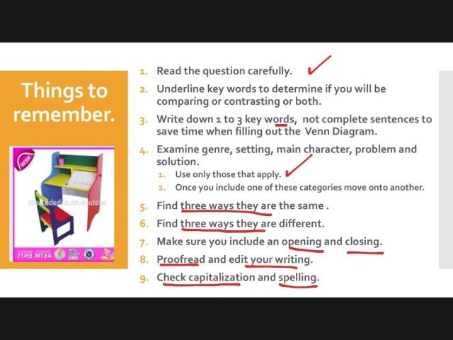 Show me How To Write A Compare & Contrast Essay  english, Writing
