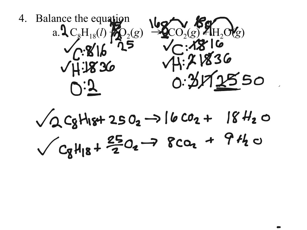 Ap Worksheet 4b Balancing Equations Ii