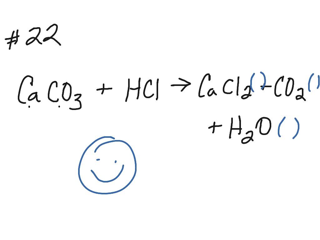 Chemistry Balancing Chemical Equations 10 1 Quiz