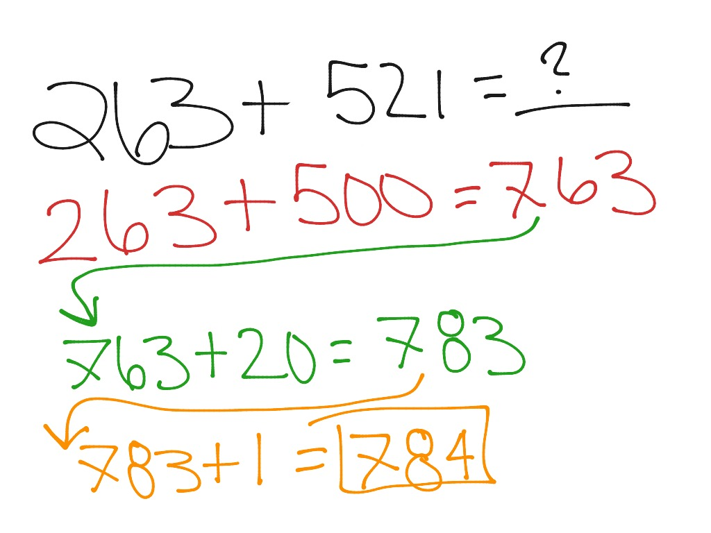Break Apart 1 Number
