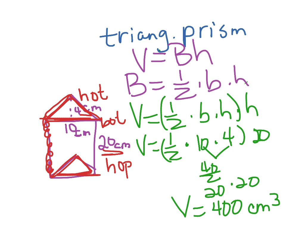 Volume Of A Triangular Prism