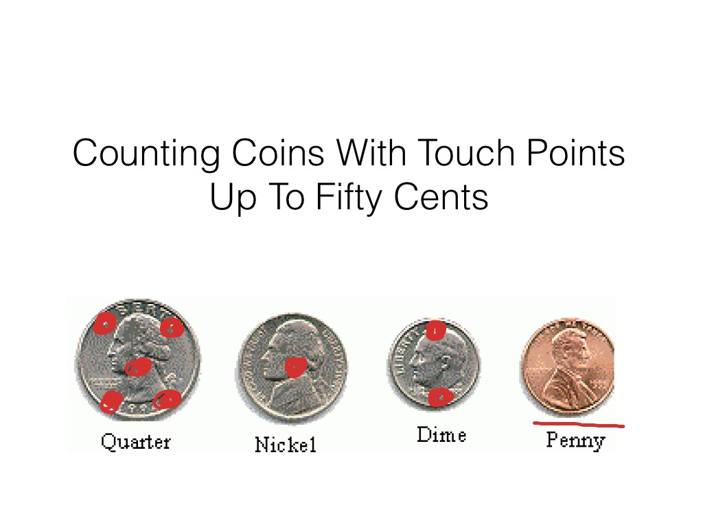 Moderate Severe Spec Ed Counting Coins W Touch Points