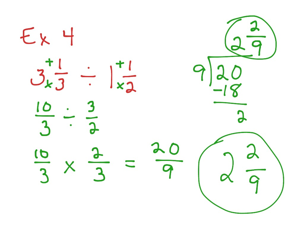 Worksheet Multiplying And Dividing Mixed Numbers